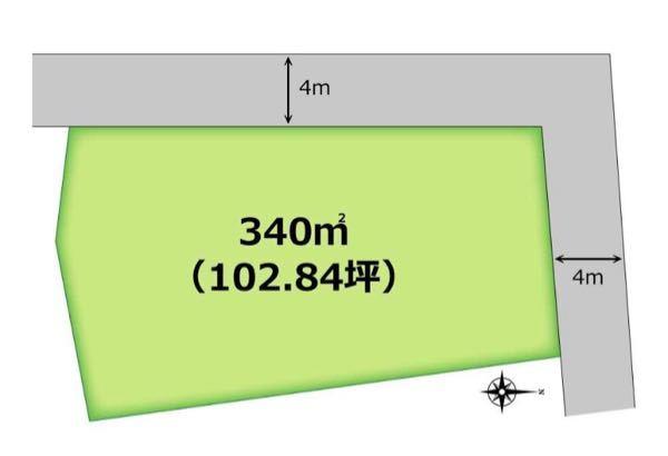 家の建築に関する質問です。 このような土地の場合、どちらの辺を間口にして考えるべきでしょうか。 短辺12メートル、長辺25メートル 素人の質問で申し訳ございません。よろしくお願いします。