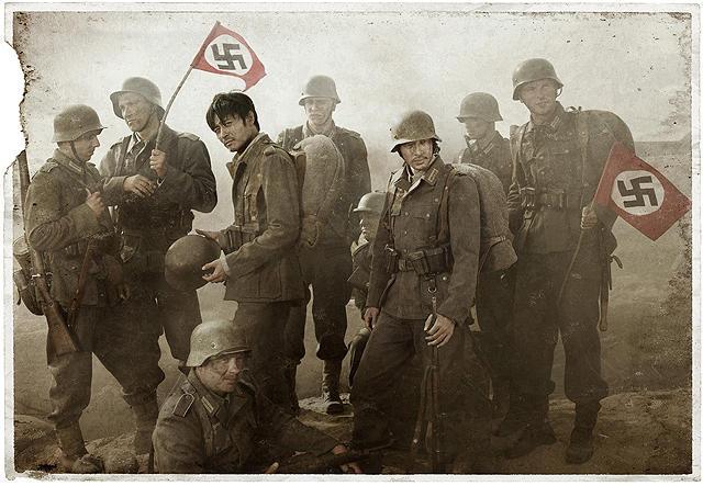 韓国映画のマイウェイは歴史的に実話なのですか? こんなにコロコロと異なる外国の兵士になれるんですかね?