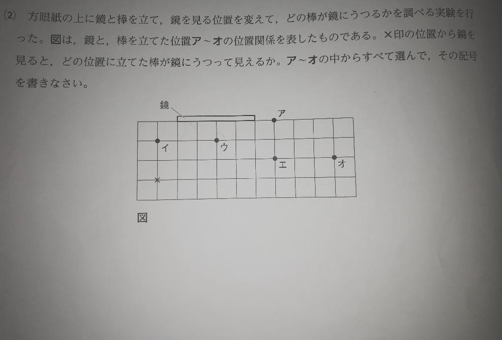 中学数学です 画像の問題解説できる方いたら回答お願いします。 答えはウとエです。