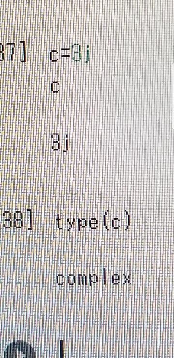 私は現在プログラミングの勉強をしているのですが、動画ではこのことを複素数とおっしゃっていたのですが、jが付いているので虚数ではないのでしょうか?