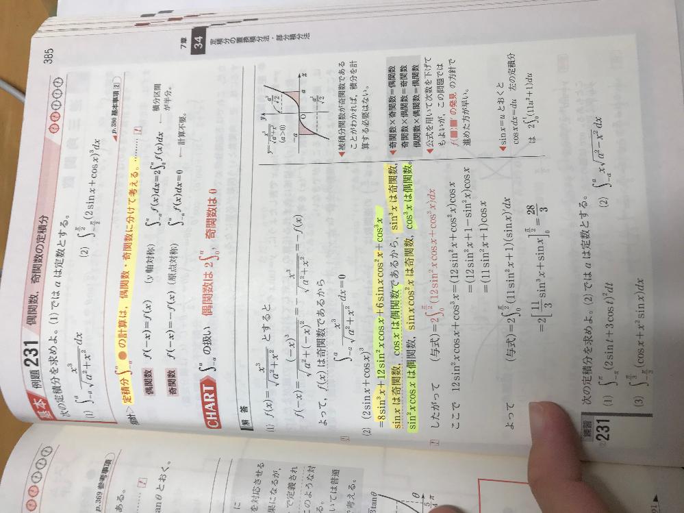 数3積分です。右のところにf(●)●'の発見と書いていますが、この公式思い出せません。この公式について詳しく教えてください。(置換しない方法)