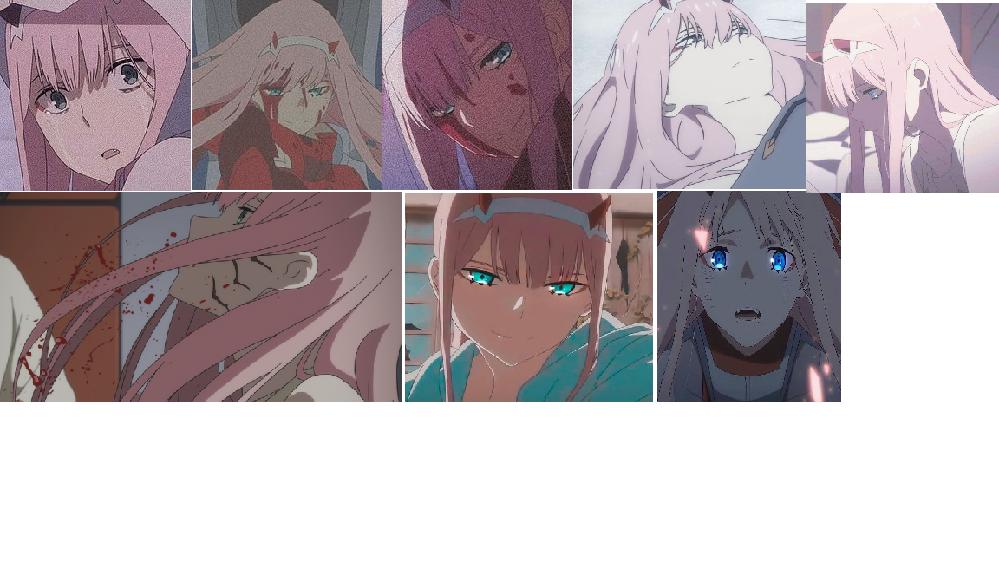 この8枚の画像のシーン何話に放送されたか教えてください