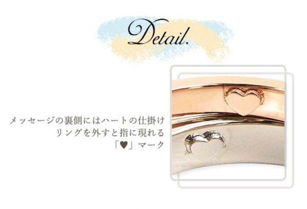 指輪を外せば内側に立体的な凸凹ハートの跡が指に残るという指輪に、なにか名前はついてますか? どのように調べたら出てきますか?