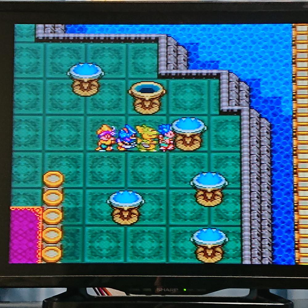 スーパーファミコンの ドラゴンクエスト6をクリアしたのですが、 画像の燭台に火がともりません。 どうすればいいのですか? どなたか教えて頂けるとありがたいです。