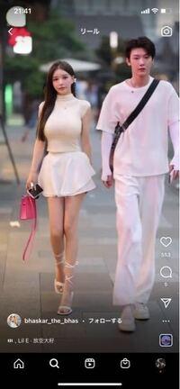 【中国美女】 インスタでよく流れてくるこの美女が気になります! 名前知りたいです!インスタもできれば知りたいです!