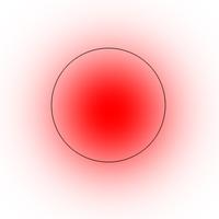PhoshopCS6です。Alt+右クリックでドラッグするとブラシの大きさが変えられるのですが、今までは出なかったのに最近画像のような赤色が出るようになりました。 この赤色を消す方法をご存じありませんか? 画像はイメージです。