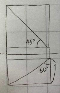 ある直方体を1つの平面Aで切断したところ, 立面図と平面図は下の図のようになった。    (1) 平面Aで2つに分けられた立体のうち, 体積の大きい方の立体の体積を求めよ。   (2) 平面αで2つに分けられた立体のうち, 体積の小さい方の立体の表面積を求めよ。  教えてください