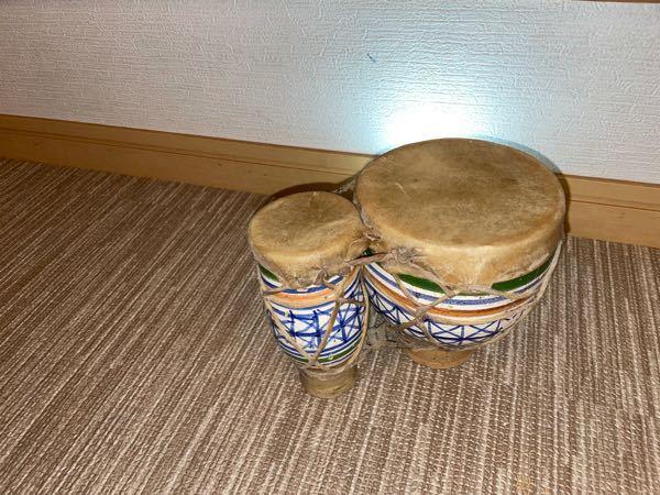 至急です。この太鼓はなんですか?写真があるともっとありがたいですおそらく外国かと親戚からもらいまひた。