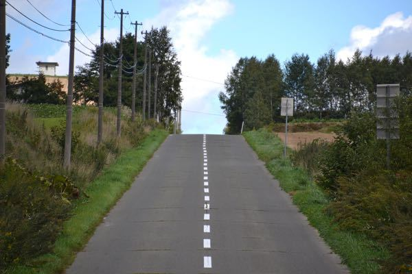 これは10:0の事故になりますか? 日本の道路交通法で話を進めます ある時 交差点がなく、山のようになった道路(画像参照)で乗用車とバイクが正面衝突事故を起こす。 乗用車には運転手1人だけ乗っており、乗用車の運転手だけが死亡するという交通事故が起こったとします。 事故の原因は、 道路が山のようになっており先が見えず、 反対の登り車線から来るバイクが、 乗用車の運転手には錯覚でバイクが逆走してる様に見え、運転手はとっさに反対車線に入り回避しようとしたがバイクは逆走しておらず法定速度内で左車線を走行していたが、 逆走していると錯覚して回避しようとしていた乗用車と正面衝突し、乗用車の運転手は打ちどころ悪く死亡した。 この場合、どちらが悪くなりますか? また、この事故で乗用車の運転手が死亡した場合バイクの運転手はどのようにして身の潔白を証明できますか?