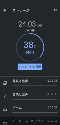 Androidスマホお使いの方で、ストレージ64GBで足りてますか?