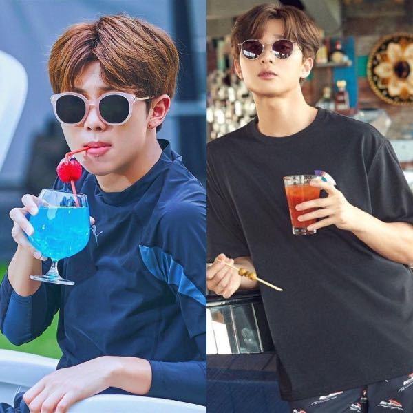 なんか、BTSのキムナムジュンさんと俳優のパクソジュンさんスマートで大人っぽくておおらかな雰囲気がなんか似てません?? BTS キムナムジュン RM ナムさん パクソジュン