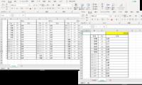 エクセル関数について  添付のようなエクセルデータ表があり、別シートで、日付を入力すると、その日付の「社名」「NO」「氏名」だけが反映されるような関数はありませんでしょうか。 分かりずらい説明で申し訳ございません。 どなたかご教授いただければ幸いです。  よろしくお願いいたします。