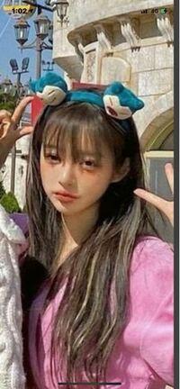 この韓国人の女の子はなんという名前ですか? また、インスタの名前も教えていただけると嬉しいです。
