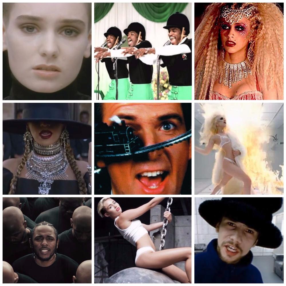 MVシリーズ その① ~ MV自慢/MV褒め大会w【洋楽MV限定2作まで】 . もうかれこれw40年以上の歴史を誇るMVすなわちミュージックビデオ…世間の話題をかっさらうw衝撃作や、短編といわず長編映画顔負けの映像テクニックやストーリーテリングwが冴える快作などいくつものMVがこれまで登場し、心躍らせてくれたことでしょう・・・ そんなとっておきの秀作・傑作を各位取り上げ、「どれだけすごいか!」を褒め合い自慢し合うジャンボリーのはじまり!笑 歌/インストもの不問ですが洋楽MV限定で2作品まで。推しのポイントや臆面もない蘊蓄自慢(たとえば映像監督についてやトリヴィアetc.)など、この際気取りや羞恥心も忘れて、さぁ大いに&自由に語り合いませんか?! Official MVに限り、ファンメイド等の私製は除外。1作品のみでも勿論歓迎です 勝手ながら質問者都合により即時返信はいたしかねます点、予めどうぞご諒承ください。2~3日後より追ってキャッチアップさせていただきます。質問者自身の回答は地味目ながら秀作 ♪Under The Makeup / a-ha http://y2u.be/3YbZwqSxLww クライムサスペンス映画調の、重厚&スタイリッシュな映像力に酔いしれる。えっ、まさかアノ人がガイシャ役なんw?それとも一筋縄ではいかぬドンデン返し?? ♪Les Mots - Mylène Farmer feat. Seal http://y2u.be/o62i5YUFRjc 登場人物2人だけ、セピアの画面にシンプルなセットでも、演者のカリスマと魅力+映像の力でこんなにも映画的な作品に。「流されて」はたまた熟女版「キャスト・アウェイ」w風?…ミレーユさんますます綺麗!