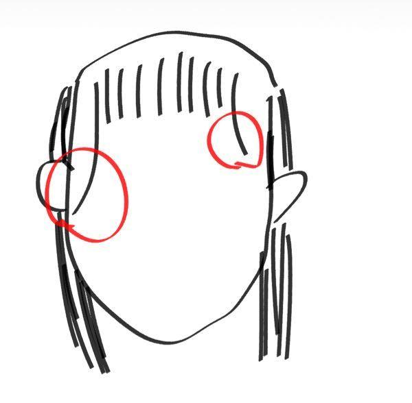 分かりにくくてすみません。 前髪の触覚が左右全く長さと量が違うのですが左側に合わせる方法はありませんか?? 前髪 触覚 ヘアスタイル