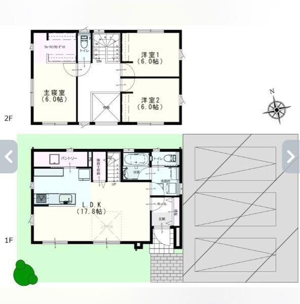 リビングに階段、吹き抜けがあると寒いですか? 宮城県大崎市古川駅付近の建て売りです。