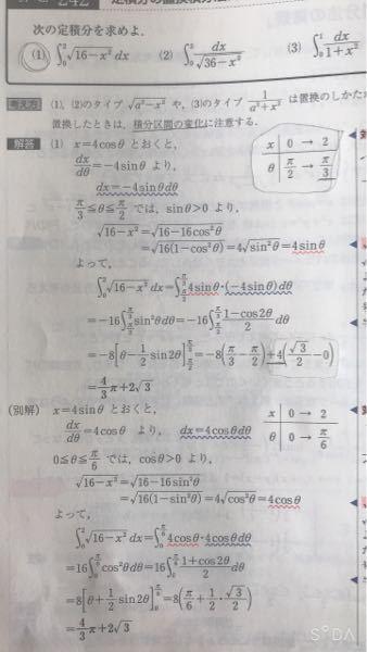 (1)の+4でくくってるところがよくわかりません。 黒線の部分