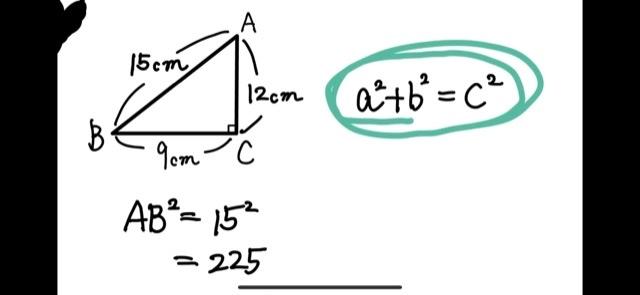 なんで二乗するんですか?そのままできないんですか?辺のながさがわかっているのに2乗は何のあたいなんですか? 直角三角形には、 斜辺の2乗は、直角をはさむ辺を2乗して足したものと等しい