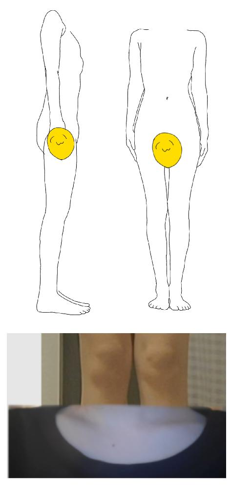 至急の質問なんですが、私の骨格はなんですか? また、似合う服装なども教えていただきたいです よろしくお願いします
