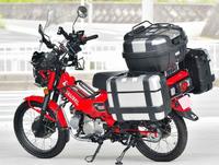 バイクにフルパニアなんて必要なんですか。 ・・・・・・・・・・・・・・・・・・・・・・・・・・・・・・・・・・・・   と質問したら。  荷物が沢山詰めて便利。 という回答がありそうですが。 よく分からないのですが。 小さな入れ物を沢山付けたところで大きな物は運べないので荷物が多いなら素直にクルマでいくのが良いとおもうのですが。  それはそれとして。 フルパニアだとマウントしている人もいます...