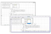 Excelで[OFFSET,COUNTA,MATCH]関数で可変参照のリストから値を別シートに取り出すものを作成しています。 想定している動作としては 画像左上のようなリストがあり、内容は随時追加されます。 これを出力シートでNoを選択すると、名称や内容が自動で出力されるものです。  現在、名前の定義で [No,名称,内容]の3つをOFFSETとCOUNTAによって範囲参照しています。 No...