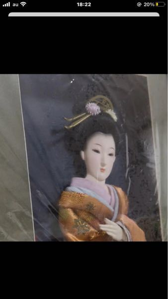 こういう額にいれられた日本人形?の作品はどういう名称ですか?