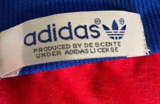 adidasのジャージのタグなのですが、年代はいつ頃になりますか?また本物でしょうか?解答よろしくお願いします。