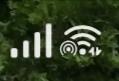 このWiFiマークの横にあるぐるぐるみたいなマークは何ですか?