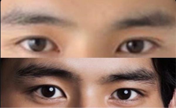 岡田健史さんの眉毛は何眉ですか??