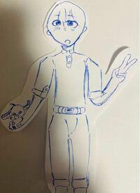 中学2年生男子で、このイラストって上手だと思いますか? 評価お願いします。(0〜100で)