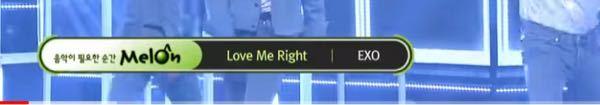 KーPOP 音楽番組のチャート名について 韓国の音楽番組についての質問です。 一通り韓国の音楽番組を見て気になったのですが、どの番組でも曲冒頭の曲名・アーティスト名の横にチャートサービス(他にはgenie・バグズ等)の名前が出ますよね。(画像参照) これはどういう意味なのでしょうか?