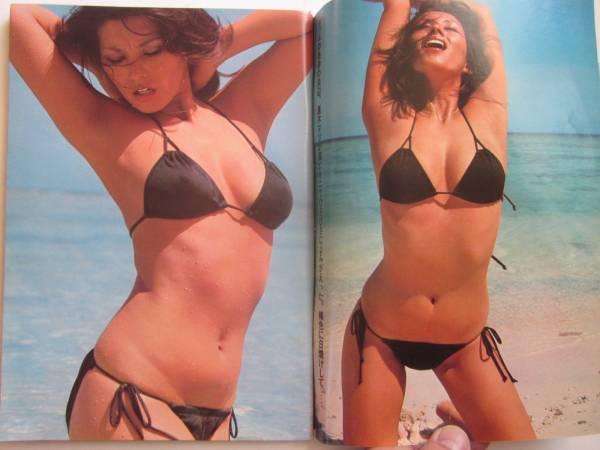 昔、芸能人水泳大会で夏木マリの黒の三角ビキニを覚えてますか? ビーチクが透けて見えるシースルーの水着、今の時代では放送出来ないレベル です。