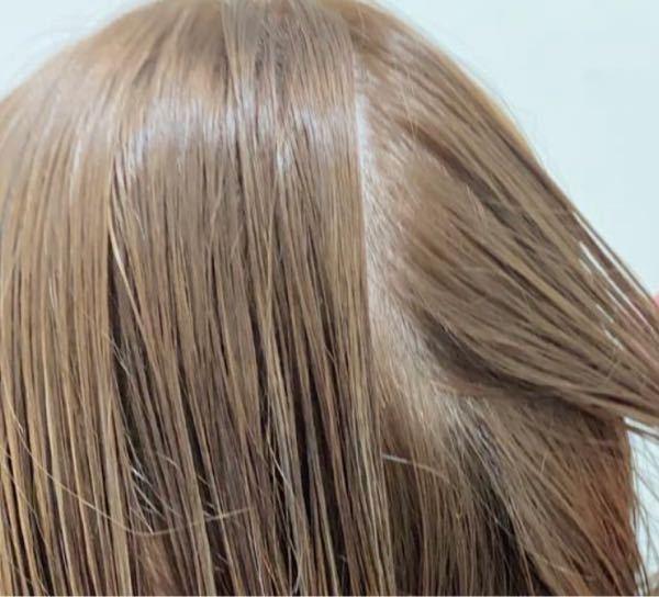 髪の毛元々やわらかく細いです。 後ろこんな感じだと薄いでしょうか?。。 元々色白です