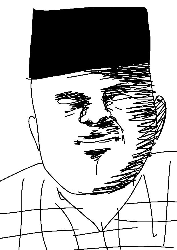 モンゴソイド描いてみました。何点ですか?