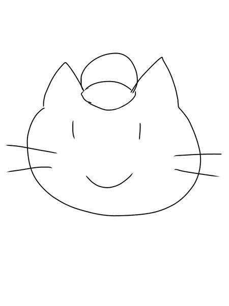 【至急】 このネコ(オス)をもっと可愛いくする為に、何を追加したらいいですか?