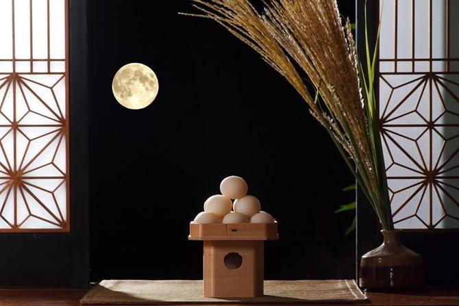 今夜は満月。 中秋の名月だそうですよ。 見えますかね?