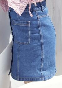 坂道デニムクイズPart5 画像のデニムスカートを穿いてる  現役または元坂道メンバーは  さて誰でしょう?