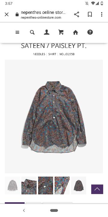 こんな感じのシャツで、廉価版ありませんか??