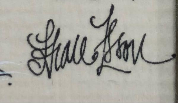 筆記体が読めません 教えて頂けました幸いです! 宜しくお願いします!