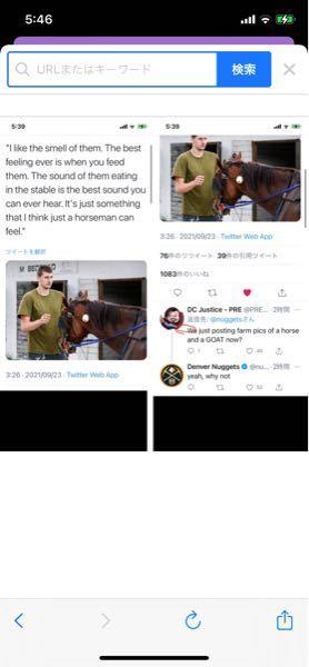 """以下の文章についての質問です。 画像は画質が悪くなってしまうので雰囲気を捉えるために使っていただければと思います。 """"I like the smell of them. The best feeling ever is when you feed them. The sound of them eating in the stable is the best sound you can ever hear. It's just something that I think just a horseman can feel."""" We just posting farm pics of a horse and a GOAT now? yeah, why not ①2行目のwhen you feed them のyouはどういった意味で使っているのでしょうか? 一般論や私達全員のような使い方をしてると捉えると少し違和感を感じてしまいます ②返答のwe just posting~ですが、こっちはyouではなくweを使っている意味が理解できなかったです よろしくお願いします"""