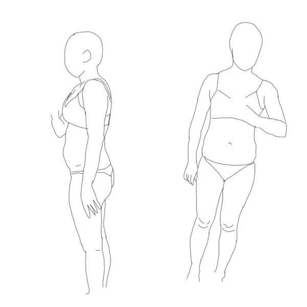 骨格診断をして欲しいです。 太っていてセルフチェックをしてもイマイチどれに当てはまっているのかわかりません…ダイエットの参考にしたいです。 お見苦しいのでトレスしました。 153cmで54キロあります… 子育て中でなかなかプロのチェックに行けないので、わかる方いらっしゃいましたらよろしくお願いします。