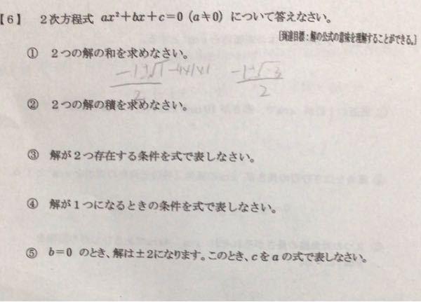 中3数学です解説付で教えてください。