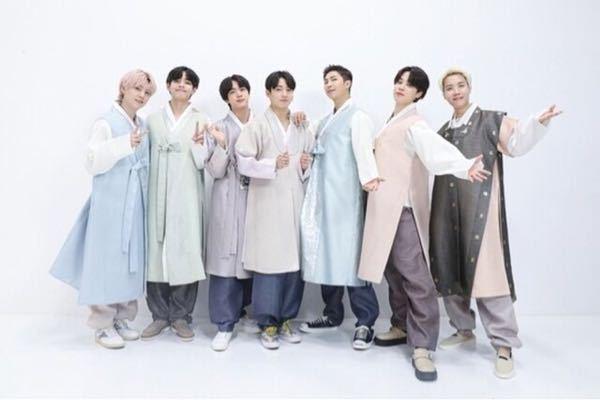 BTSメンバーの韓服誰が1番似合いますか? みんな素敵ですが♡