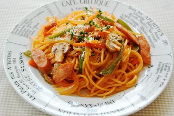パスタでいちばん美味しいのはナポリタンですか? (@_@)b