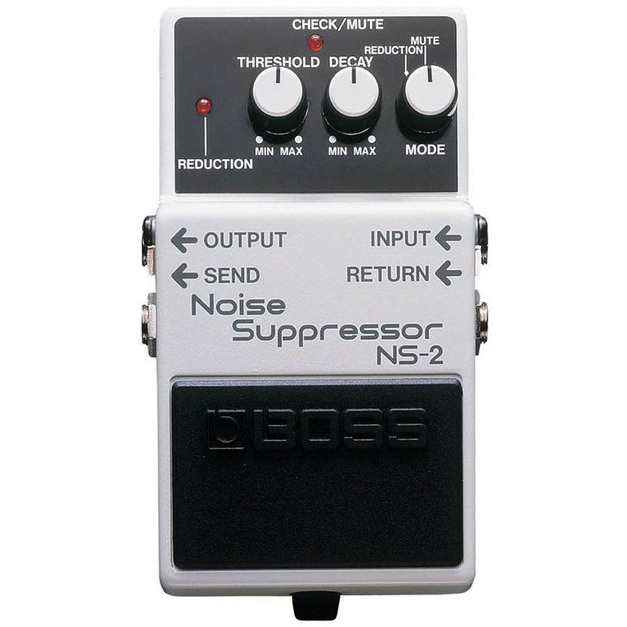 デジタルエフェクターとアナログエフェクターの混在ノイズはBOSSのノイズサプレッサーで消せますか?