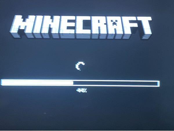 PS5でマイクラを起動すると毎回この画面が10分近く続くのですが対処法とかってありますか?