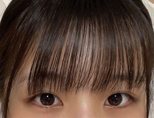 どんな前髪が似合うと思いますか?(顔全部は載せきれないので、目だけです)