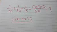 この分数の計算ですが 分子に掛ける数字がわかりません。 このすだれ算で求められますか?