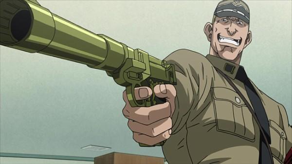 ブラックラグーン6話 でこいつが使っていた銃を教えて下さい。