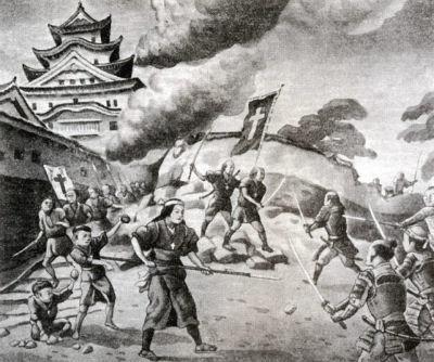 島原の乱のキリシタン牢人と、現代日本の半グレが戦ったらどちらが勝ちますか? 武器はお互いに好きな刃物を使っていいこととします。薙刀でも槍でも刀でもミリタリーナイフでもOKです。